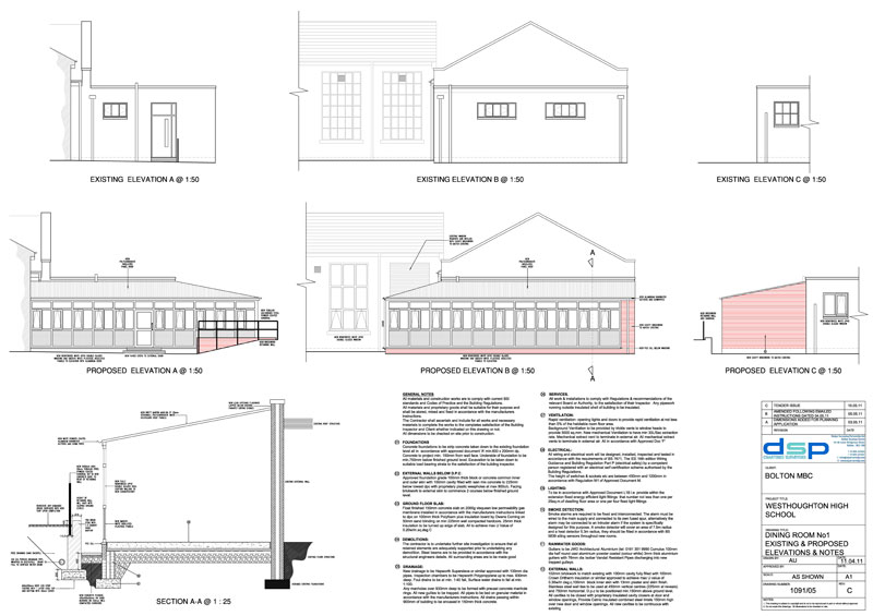 Architectural design dsp chartered surveyors for Ads architectural design services